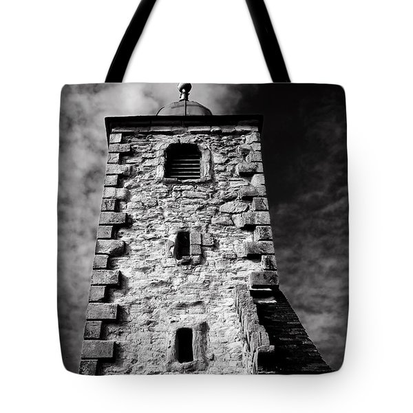 Clackmannan Tollbooth Tower Tote Bag by Jeremy Lavender Photography