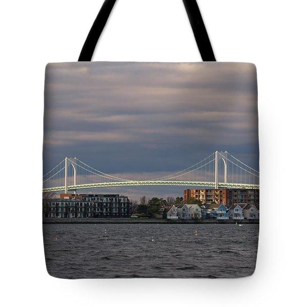 Claiborne Pell Newport Bridge Tote Bag