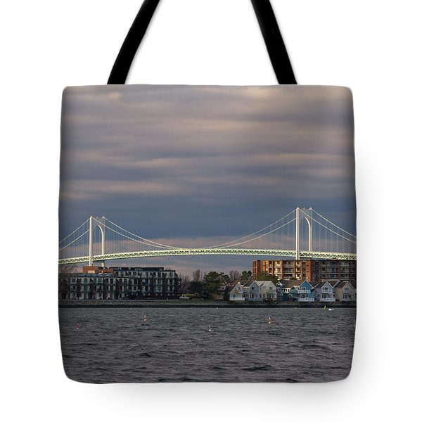 Claiborne Pell Newport Bridge Tote Bag