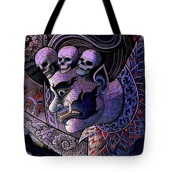 Claiming Lost Souls  Tote Bag