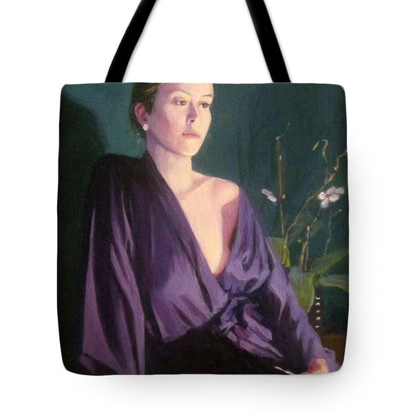 Claire Tote Bag by Mark Lunde