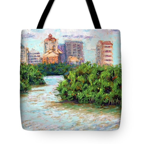 Clam Pass I Tote Bag by Laurie Paci