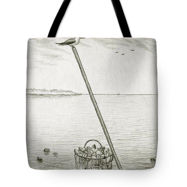 Clamming Tote Bag