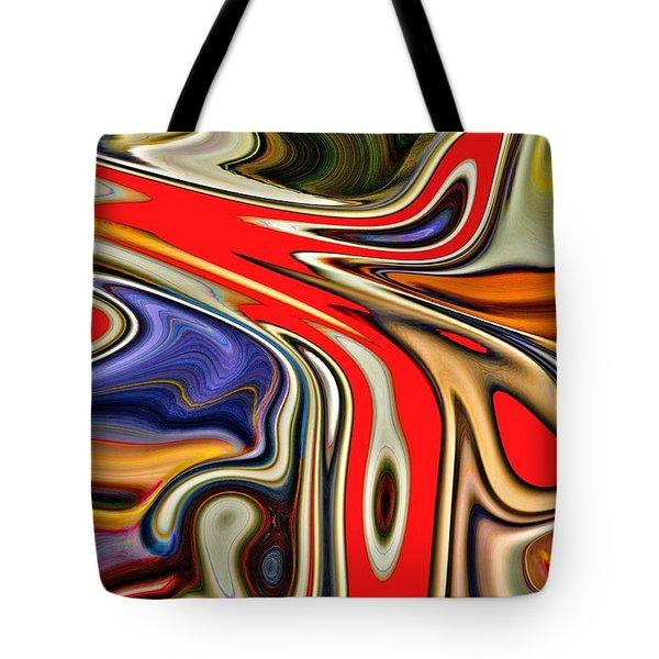 Clamor Tote Bag by Nick David
