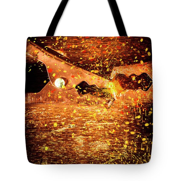 Clamp And Surge Tote Bag