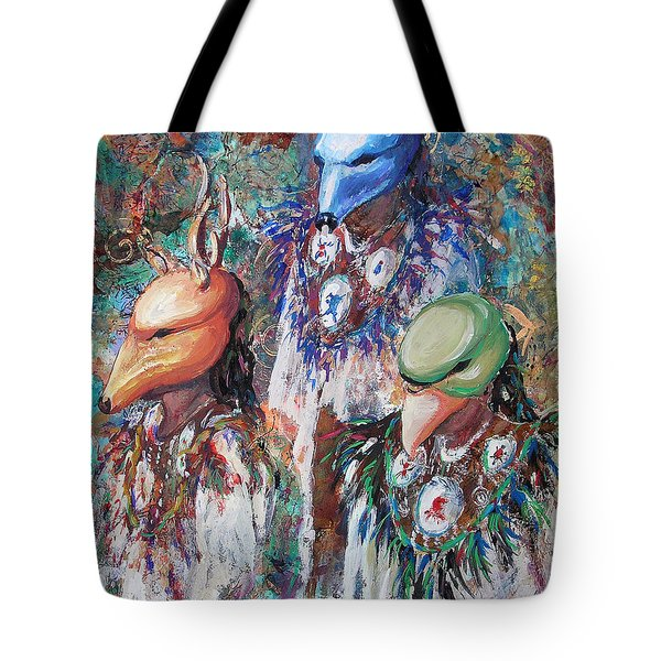 Clan Dancers Tote Bag