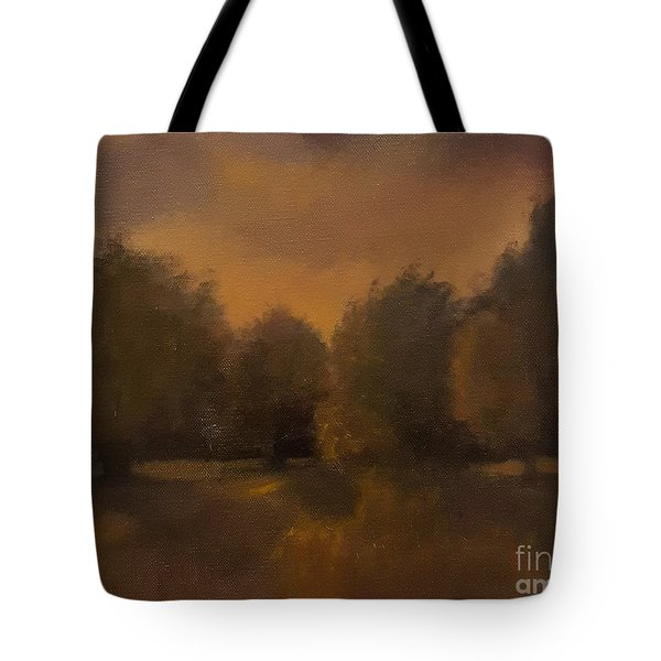 Clapham Common At Dusk Tote Bag