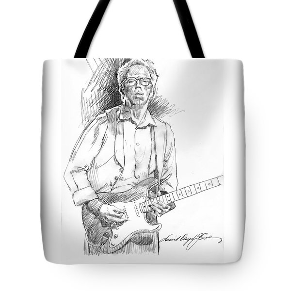 Clapton Riff Tote Bag by David Lloyd Glover