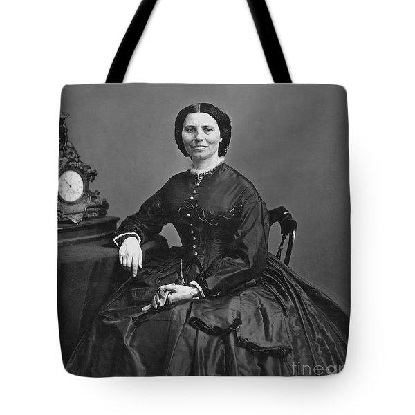 Clara Barton (1821-1912) Tote Bag by Granger