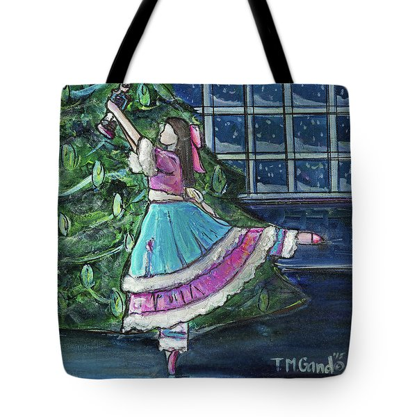 Tote Bag featuring the painting Clara II by TM Gand