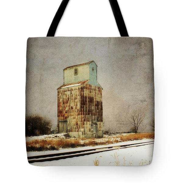 Tote Bag featuring the photograph Clare Elevator by Julie Hamilton