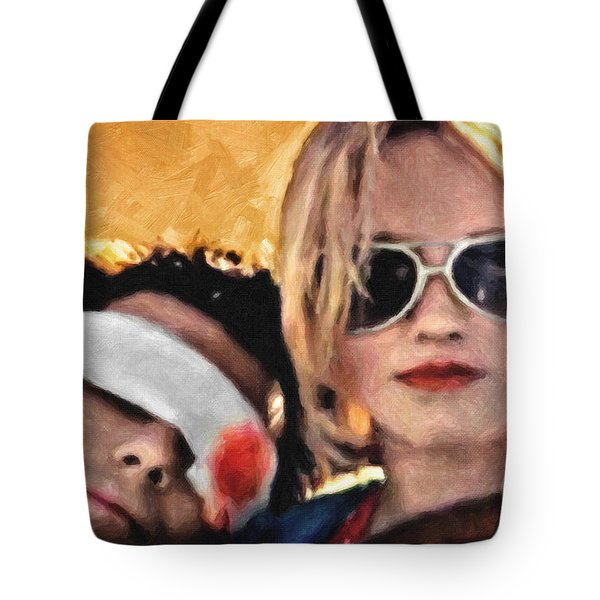 Clarence And Alabama Tote Bag