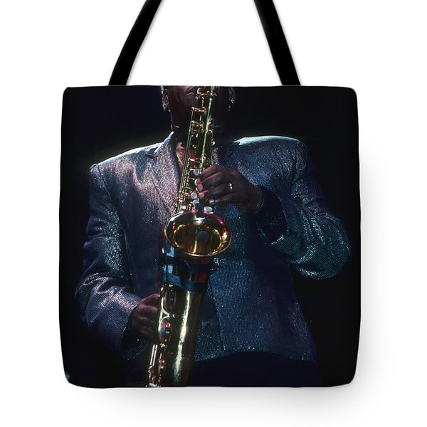 Clarence Clemons Tote Bag