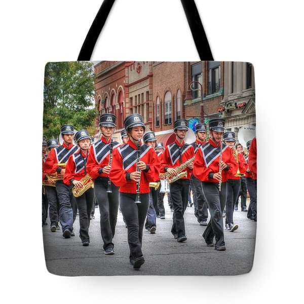 Clarinda Iowa Marching Band Tote Bag