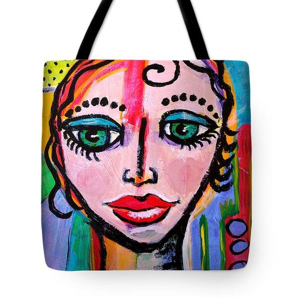 Clarissa - Vivid Vixen 3 Tote Bag