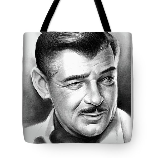 Clark Gable 26aug17 Tote Bag