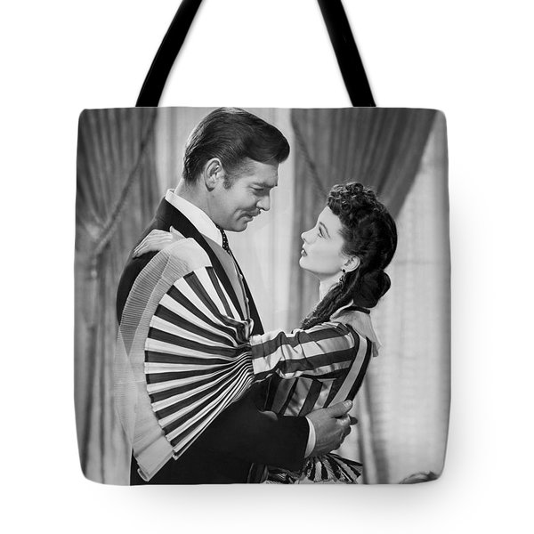 Clark Gable And Vivien Leigh Tote Bag