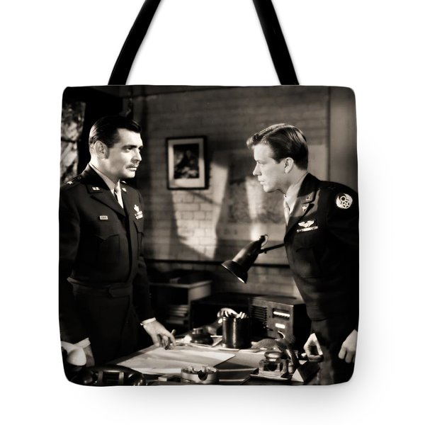 Clark Gable Appearing In Command Decision Tote Bag