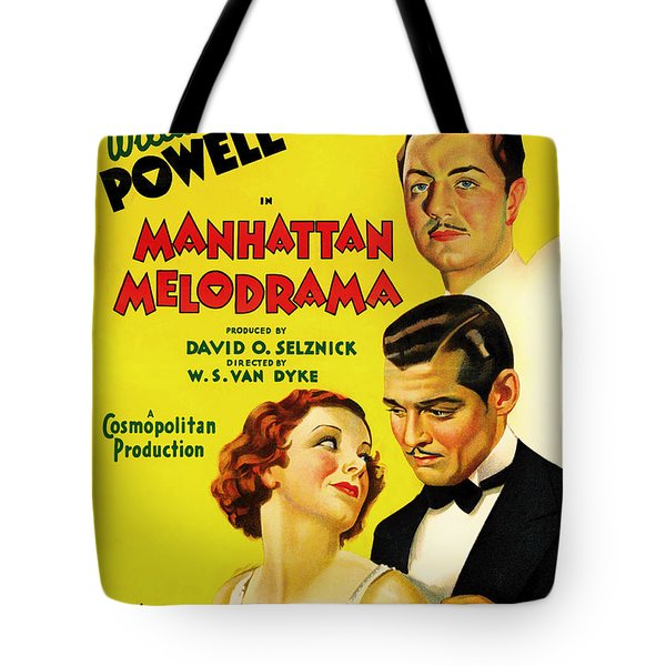 Clark Gable In Manhattan Melodrama 1934 Tote Bag
