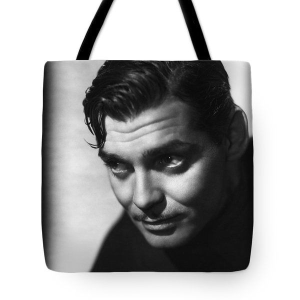 Tote Bag featuring the photograph Clark Gable by R Muirhead Art