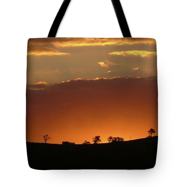 Clarkes Road II Tote Bag by Evelyn Tambour