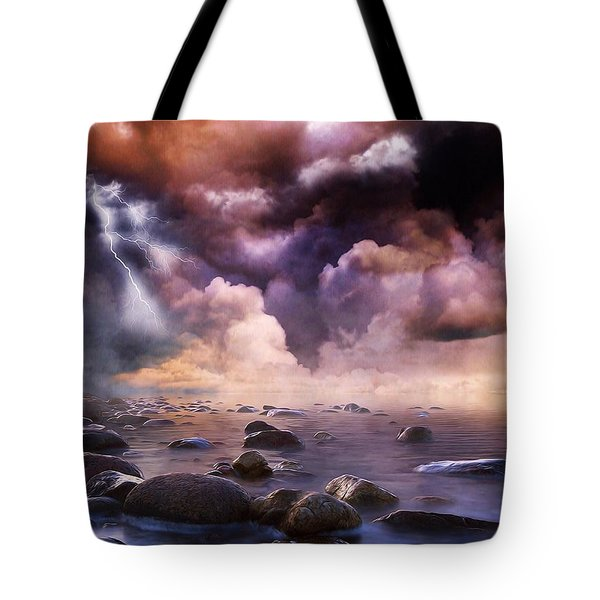 Clash Of The Clouds Tote Bag
