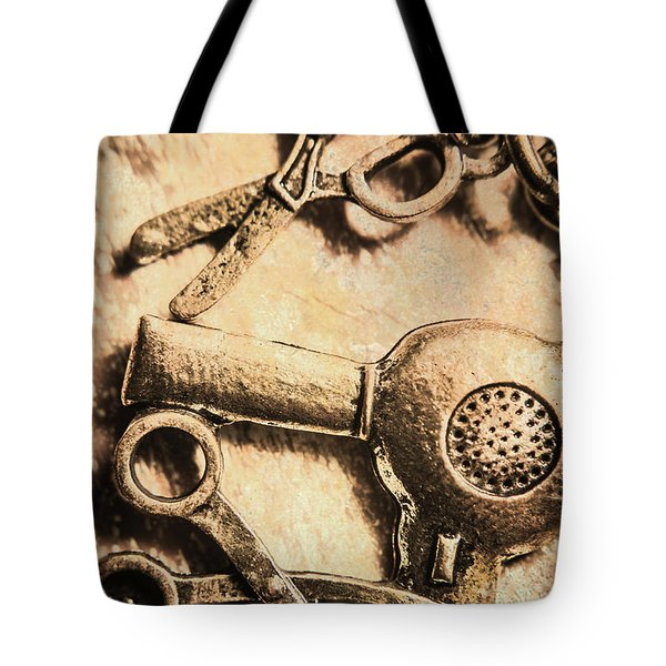 Classic Beauty Salon Icons Tote Bag