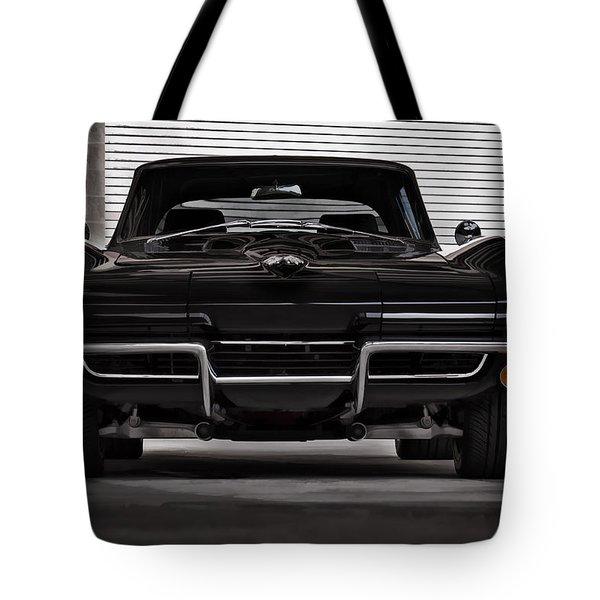 Classic Black Tote Bag