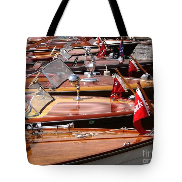 Classic Boats Tote Bag