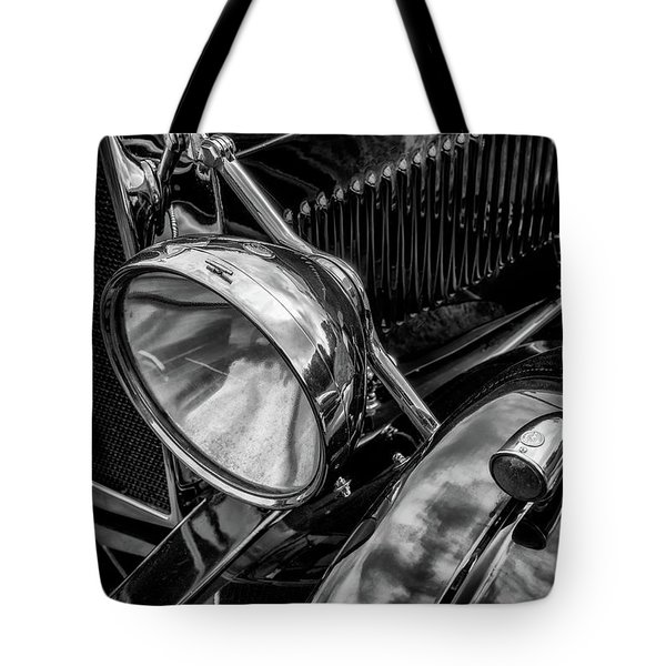 Tote Bag featuring the photograph Classic Britsh Mg by Adrian Evans