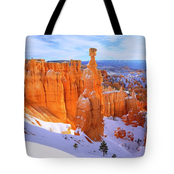 Tote Bag featuring the photograph Classic Bryce by Chad Dutson