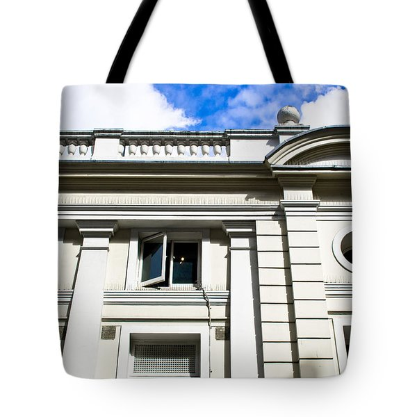 Classic Building Tote Bag