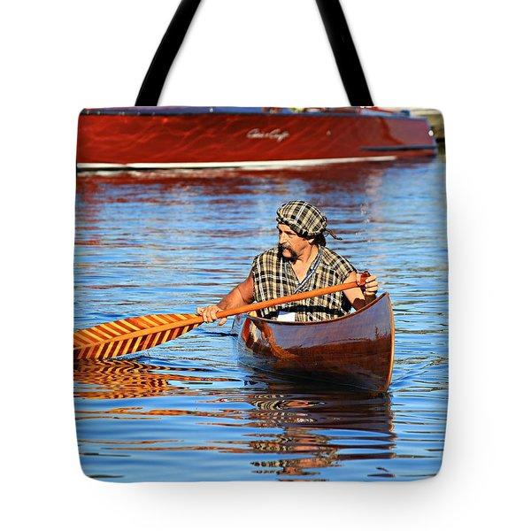 Classic Canoe Tote Bag