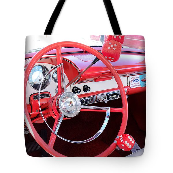 Classic Car Tote Bag by Allen Beilschmidt