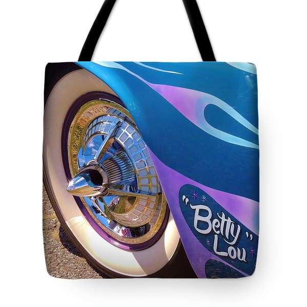 Classic Car Betty Lou Tote Bag