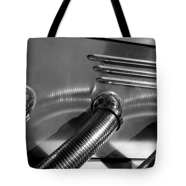 Classic Car Exhaust Tote Bag