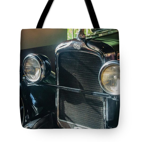 Tote Bag featuring the photograph Classic Car Museum, Asheville, Nc by Richard Goldman