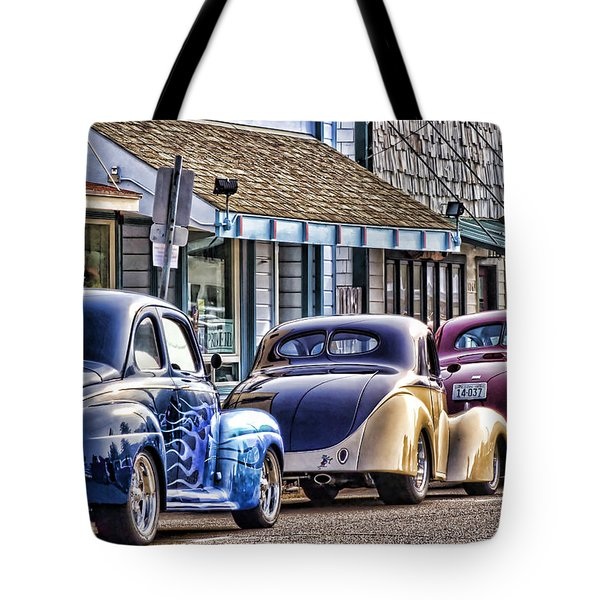 Classic Car Show Tote Bag