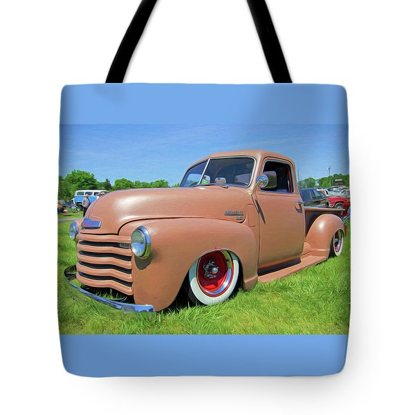 Classic Chevrolet Truck Tote Bag