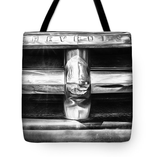 Tote Bag featuring the photograph Classic Chrome  by Bitter Buffalo Photography