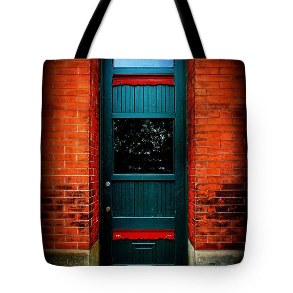 Classic Door Tote Bag by Perry Webster