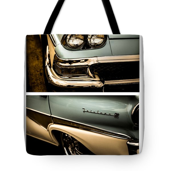 Classic Duo 1 Tote Bag by Ryan Weddle