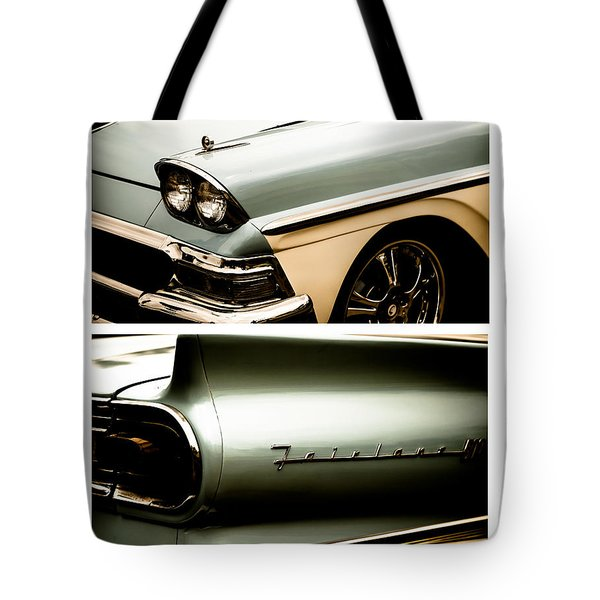 Tote Bag featuring the photograph Classic Duo 2 by Ryan Weddle