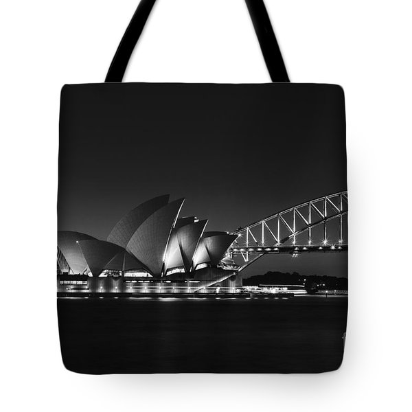 Classic Elegance In Bw Tote Bag