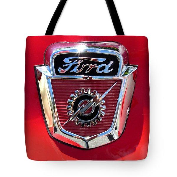 Classic Ford Logo Tote Bag