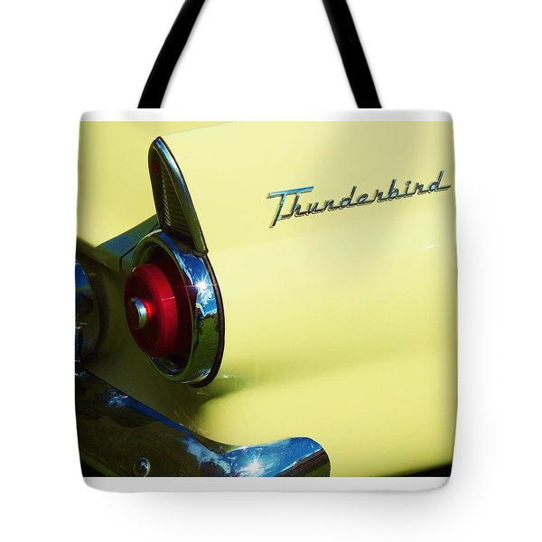 1955 Ford Thunderbird Tote Bag