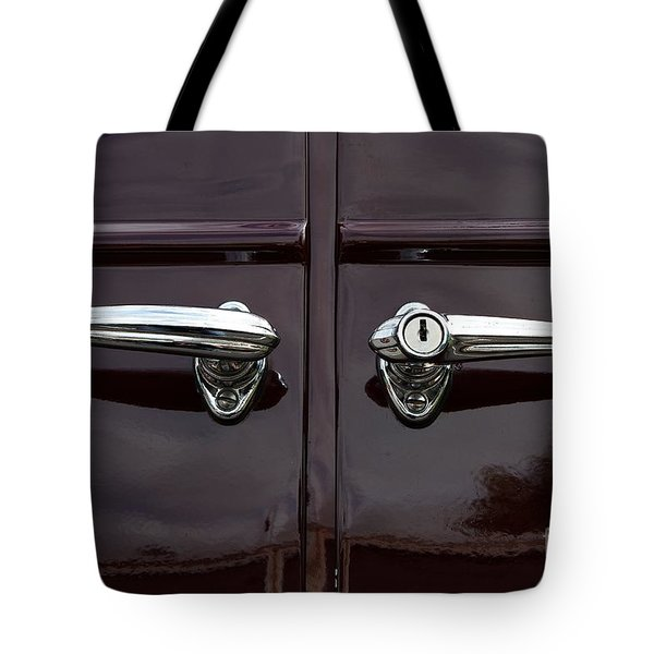 Tote Bag featuring the photograph Classic Handle by Gary Bridger