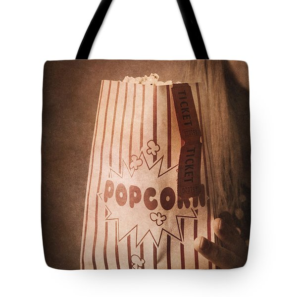 Tote Bag featuring the photograph Classic Hollywood Flicks by Jorgo Photography - Wall Art Gallery