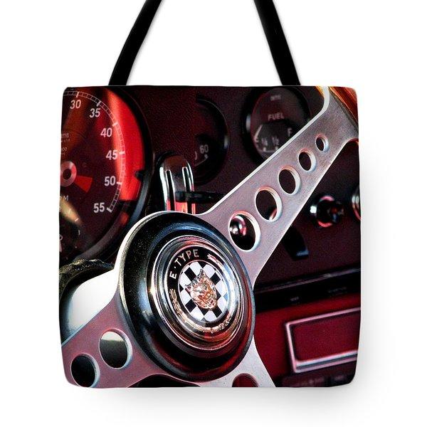 Classic Jaguar E Type 4.2 Tote Bag