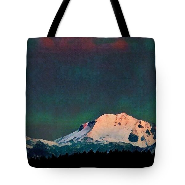 Tote Bag featuring the photograph Classic Lassen Mini I by Jan Davies